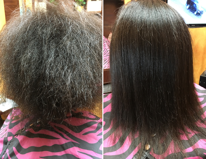 Keratin Hair Straightening Permanent Keratin Hair