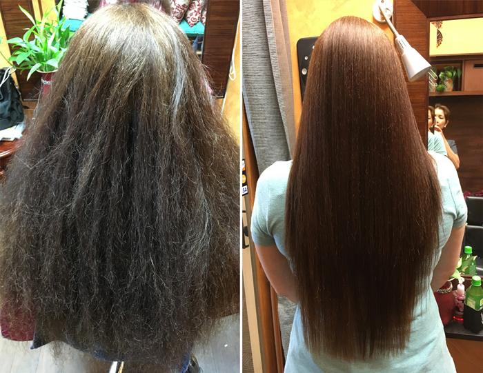 how to get straight hair naturally at home without straightener