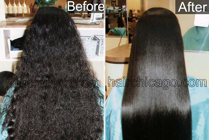 Permanent Hair Straightening Salon Om Hair