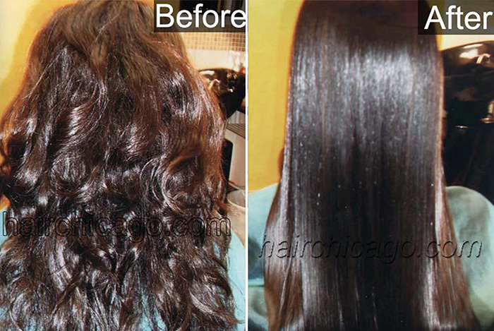 Jelz-Straight-Salon-Hair-Wedding-Chicago-Schaumburg-Straightening-Japanese-Make-Up-African-American-Frizzy