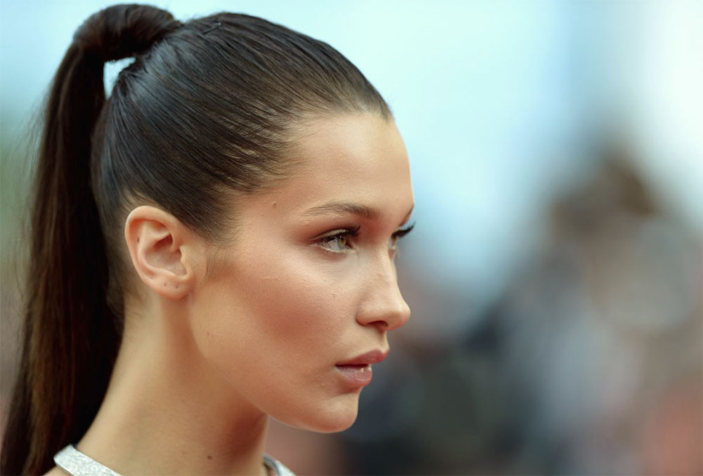 Bella-Hadid-High-Ponytail-Spring-Hair-Hairstyle-Chicago-Trends